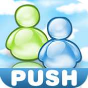 MSN Messenger with Push kik messenger