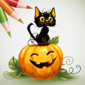 Coloring Book: Halloween! blank book report form