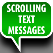 Scrolling Text Messages scrolling text ticker