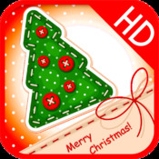 Sewing Christmas Card HD