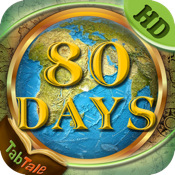 Around the World in 80 Days - An Interactive Children`s Story Book HD
