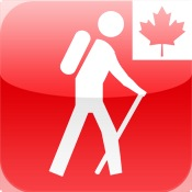 The Parks: Canada for iPad map canada physical