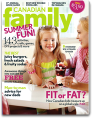 Canadian Family Magazine family