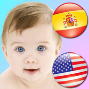 Spanish Baby Cards! Learn 200+ Spanish & English Words