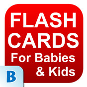Flash Cards For Baby & Kids teaching skills