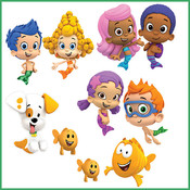 Bubble Guppies Card Game..