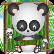 Catch The Pandas Free - The Falling Animals Puzzle Game
