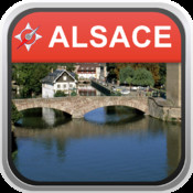 Offline Map Alsace, France: City Navigator Maps