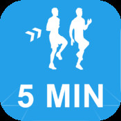 5 Minute HIIT Workout High Intenisity Interval Training Calisthenics Challenge : Full Fitness exercise workout trainer and fitness buddy, home, on-the-go personal mobile fitness trainer, weight loss for Health