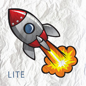 A Space Race Rocket Lite - Top Run Flight Game
