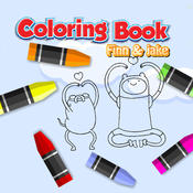 Coloring Book Kid Games For Finn and Jake Version epub electronic book