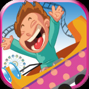A Roller Coaster Frenzy FREE - Extreme Downhill Rollercoaster Game rail rush