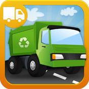 Trucks Builder - Things That Go Preschool Learning Shape Puzzle Game Free