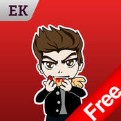 Emoji Kingdom 14 Free Vampire Halloween Emoticon Animated for iOS 8 emoticon sticker