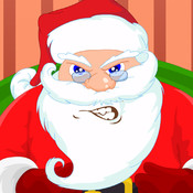 Hungry Santa - Water & Chocolate & Cake & Milk & Pizza & Burger - for Christmas Game