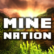 Mine Nation - Worldwide Pocket Community For Minecraft PE XBOX and PC Edition