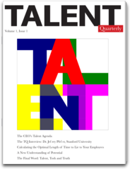 Talent Quarterly – The Executive`s Guide to Managing Talent rogue talent builds