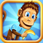 Preschool Monkey - A Little Banana Adventure Baby School Kids and Lunchbox Friends