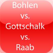 Bohlen vs. Gottschalk vs. Raab