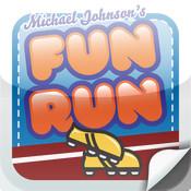 Michael Johnson`s Fun Run fun run