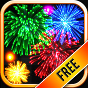 Real Fireworks HD Free HD 2012 - Visualizer, Light Show, Glow and Art