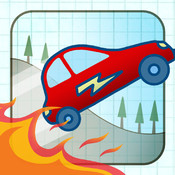 Doodle Fun Car Racing Pro hill climb racing