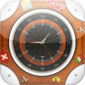 Travel Alarm Clock Pro HD - alarm, timer, radio, weather, currency automatic alarm