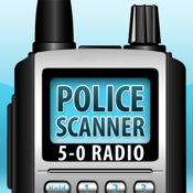 5-0 Radio HD Police Scanner (Free Bonus: HiDef Radio included)