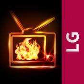 Fireplace for LG Smart TV ipod tv