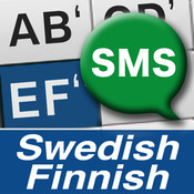 1Hand SMS Swedish / Finnish Keyboard