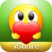 iShare for Facebook,Email&SMS texting FREE