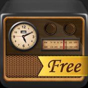Radio Alarm Clock Free-MP3/Radio/Nature Sound Alarm + Sleep Timer