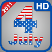 Independence Day 2011 - 4 july HD for iPad 2 and iPad