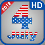 Independence Day 2012 - 4 july HD for iPad 2 and iPad