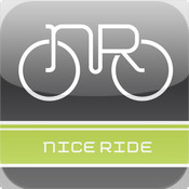 Nice Ride MN - Map and Timer