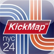 NYC Subway 24-Hour KickMap for iPad