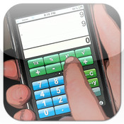 Scrolling RPN Calculator scrolling text ticker