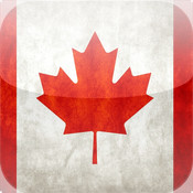 Canada Day - iPhone version map canada physical