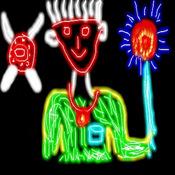 Animated Glow Doodle Lite