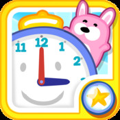 Tell the Time with Bubbimals – Learn to tell the time on a fun, interactive analog speaking clock - The best educational games for primary, preschool and elementary children by Playerthree