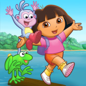 Dora Hops into Phonics! HD (a preschool learning game by Nickelodeon)