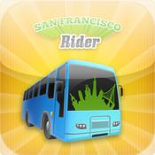 San Francisco Rider - SFMTA Muni and BART Train, StreetCar and Bus Tracker