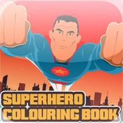 Superhero Colouring Book
