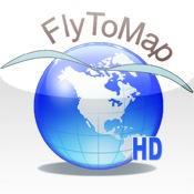 FlyToMap GPS HD - All in one (Park Marine Lake Travel maps)