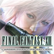 FINAL FANTASY XIII Larger-than-Life Gallery for iPad