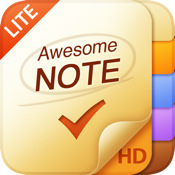 Awesome Note HD Lite (+To-Do/Diary)