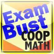 COOP/HSPT Math Flashcards Exambusters
