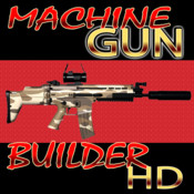 A-X1 Machine Gun Builder HD - Universal App for iPhone and iPad - Best in Cool Virtual Weaponry Building Apps virtual machine tool