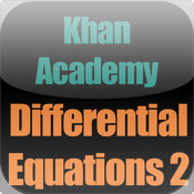 Khan Academy: Differential Equations 1 different