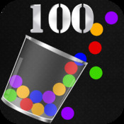 Catch 100 balls falling - Cups moving in the line to catch dropping balls !